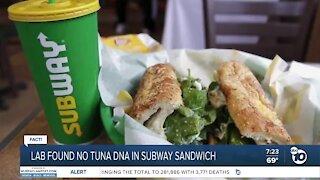 Fact or Fiction: No tuna in Subway tuna sandwich?