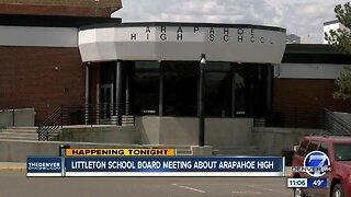 Littleton School Board meeting set for Thursday regarding Arapahoe High leadership
