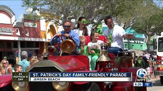 St. Patrick's Day family-friendly parade held in Jensen Beach