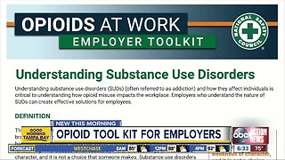 National Safety Council releases opioid toolkit for employers