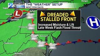 Rain Chances Increase Late