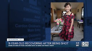 9-year-old recovering after being shot in Mesa
