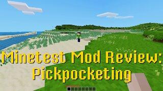 Minetest Mod Review: Pickpocketing