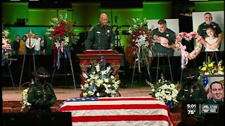 Funeral service and procession held for fallen Pinellas Deputy Michael Magli