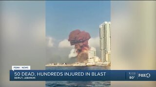 SWFL man says sister injured in Beirut blast