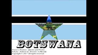 Bandeiras e fotos dos países do mundo: Botswana [Frases e Poemas]
