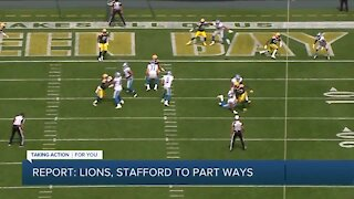 Matthew Stafford reportedly agrees to part ways with Detroit Lions