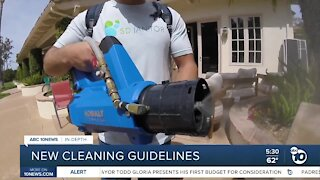 In-Depth: CDC issues new cleaning guidance amid pandemic