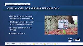 Virtual vigil for missing Cape Coral woman