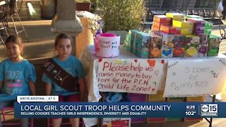 Helping Kids Go Places: Girl Scout Troop 2137