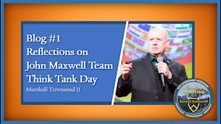 MT2 Growing Leadership Blog #1 - Reflection On JMT Think Tank Day
