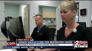 Unique walk-in clinic for respiratory issues