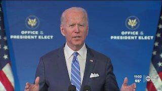 President-elect Biden unveils COVID-19 relief plan