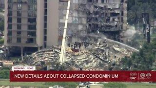 New details about collapsed condominium