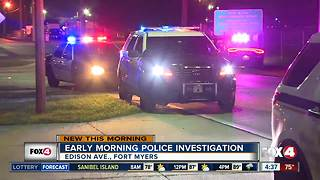 Fort Myers Police Investigation