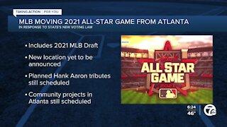 MLB moving All-Star Game from Atlanta