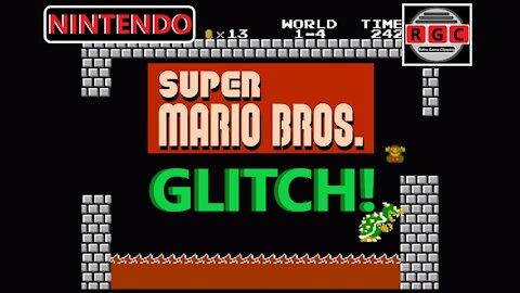 Crazy 'dead but not dead' glitch in Super Mario Bros