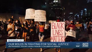 Society's role in fighting for racial justice