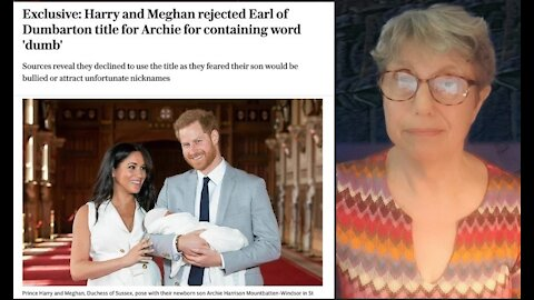 Meghan Markle, Prince Harry and the Earl of Dumbarton