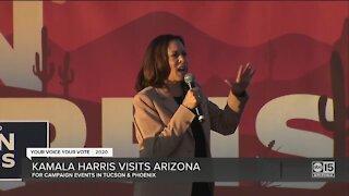Kamala Harris visits Arizona