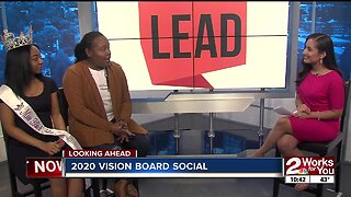 Preview of the 2020 Vision Board Social in Tulsa for young girls