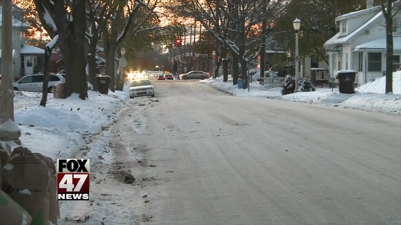 Residents upset over unplowed streets