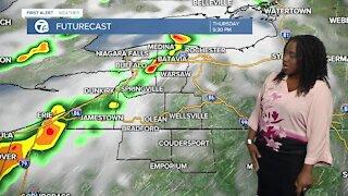 7 First Alert Forecast 12 p.m. Update, Wednesday, July 14