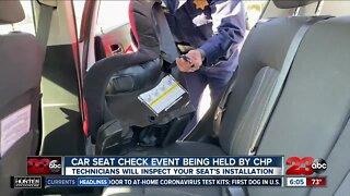 CHP bringing back car seat check events