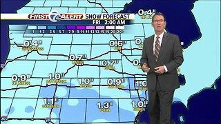 Metro Detroit Forecast: Quiet and cold tonight