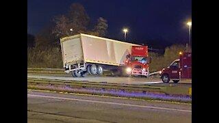 Icy road conditions causing multiple crashes across NE Ohio