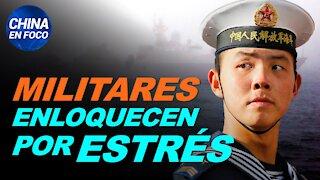 Militares chinos enloquecen por tanta presión. Y aumentan los suicidios en ciudades encerradas
