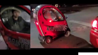 World smallest car you see in Canada