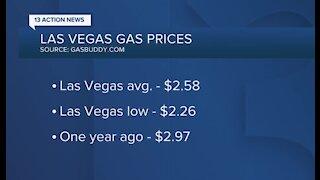 Las Vegas gas prices up slightly this week