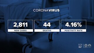 Latest on Florida's coronavirus cases