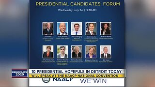 10 presidential candidates in Detroit