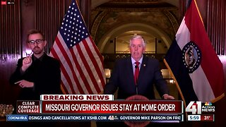 Missouri Gov. Parson issues statewide stay-at-home order