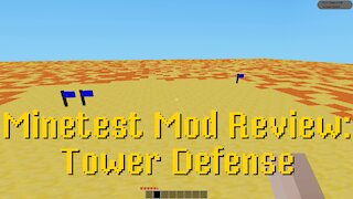 Minetest Mod Review: Tower Defense