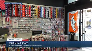 Sportsfan, other businesses excited about Opening Day