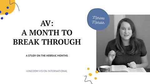 Hebraic Months: Av 5781