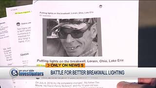 Local families demand better break wall lighting