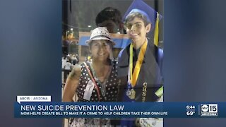 Ducey signs bill making it a crime to encourage teen suicide