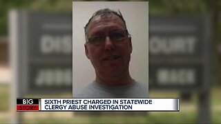 Sixth priest charged in statewide clergy abuse investigation