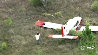 Small plane makes emergency landing in Collier County