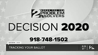 DECISION 2020: Tracking your ballot