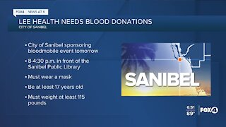 Lee Health in need of blood donations
