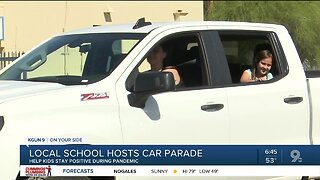 Marana teachers show support for students during pandemic