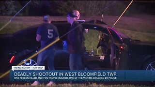 Deadly shootout in West Bloomfield Township