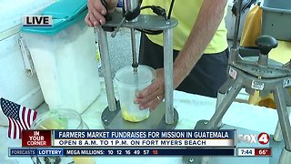Fort Myers Beach farmers market fundraises for mission to Guatemala