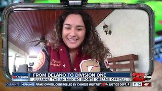Julianna Tabian signs to Jackson State University