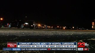 Community Honors Mercy SW Hospital Caregivers with prayer